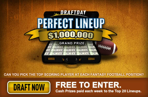 Million Dollar Perfect Lineup Contest