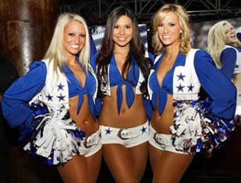 Dallas Cowboys Cheerleading Squad