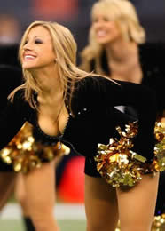 New Orleans Saints Cheerleading Squad