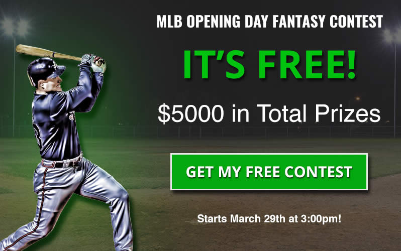 MLB Fantasy Contest for Opening Day