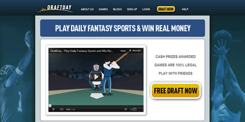 Draft Day Website Interface